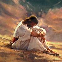Cristo hizo oración por mí
