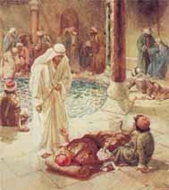 La curación del paralítico de la piscina de Siloé
